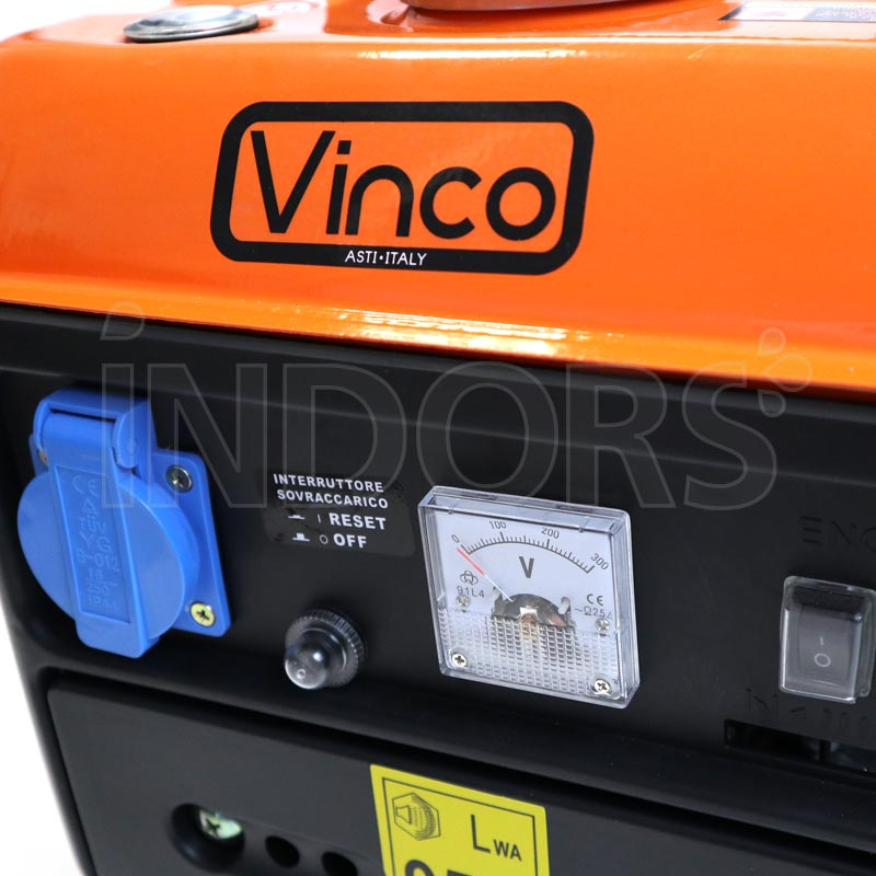 Vinco LT950DC - Pannello di Controllo