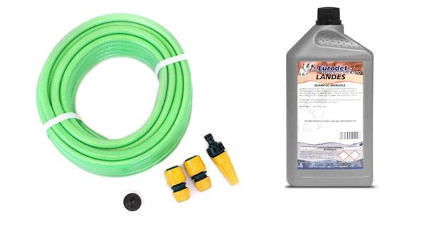 Kit Idrico + Detergente Lavaggio Auto Professionale
