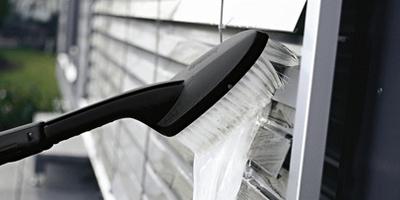 lavaggio persiane con idropulitrice karcher
