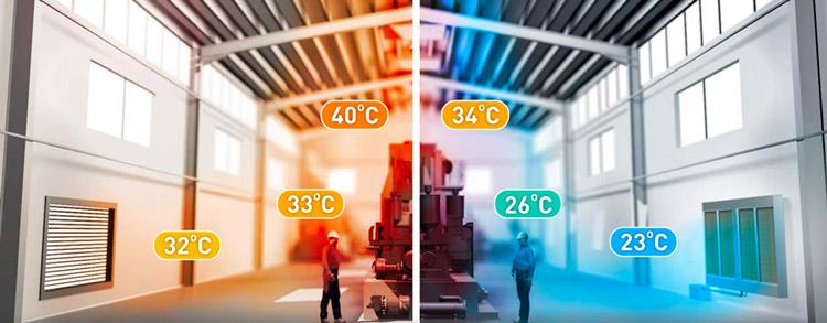 Raffrescamento evaporativo