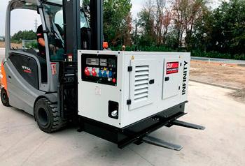 Generatore per edilizia Genmac