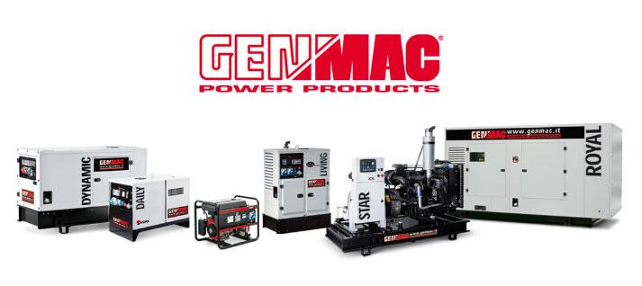 Generatori di Corrente Genmac