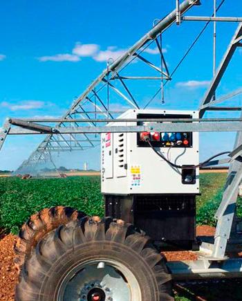 Generatore Elettrico Genmac per Agricoltura