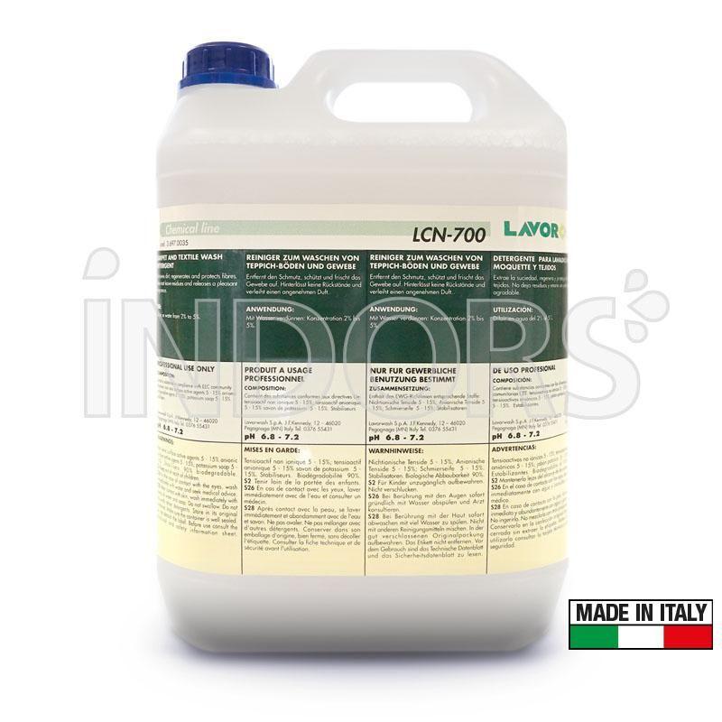 LCN 700 Detergente tessuti e tappezzeria