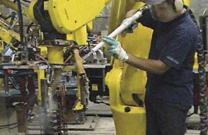 Produzione Automobili Pulizia Sabbiatura criogenica