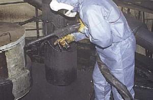 sabbiatura criogenica industria chimica