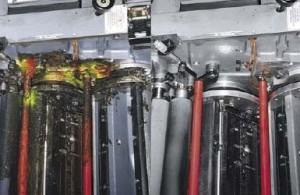 Pulizia macchine da stampa