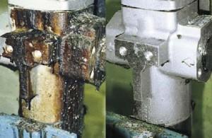 pulizia valvole impianti per poliuretano